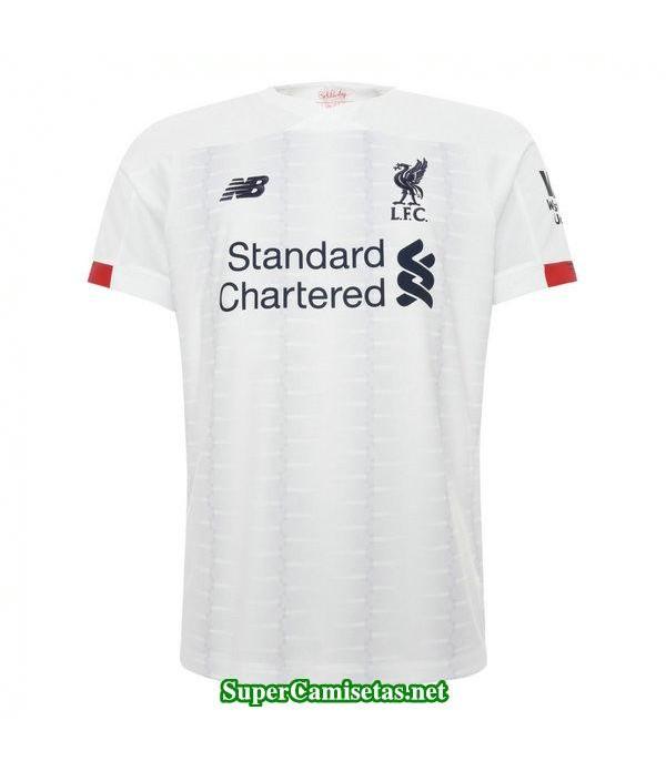 segunda equipacion camiseta liverpool 2019/20
