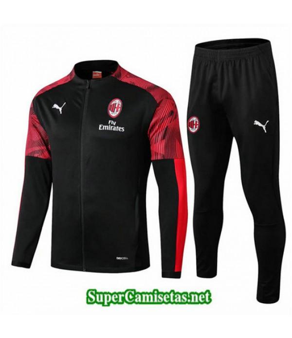 Chandal AC Milan Chaqueta Negro Negro 2019/20