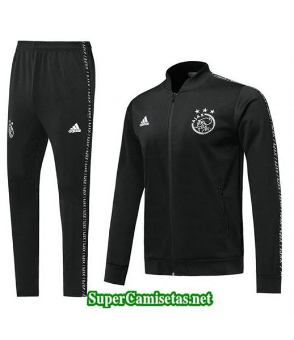 Chandal AFC Ajax Chaqueta Negro Negro 2019/20