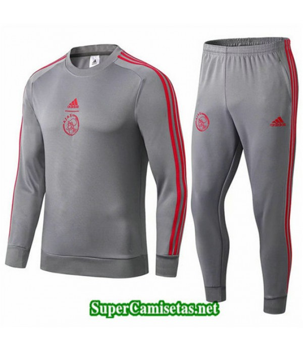 Chandal AFC Ajax Gris oscuro Gris oscuro 2019/20