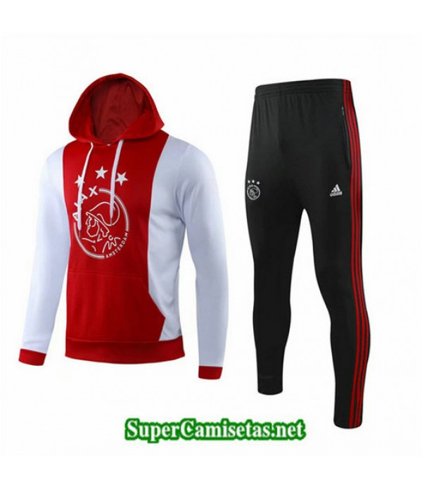 Chandal AFC Ajax Sombrero Rojo/Blanco Rojo/Blanco 2019/20