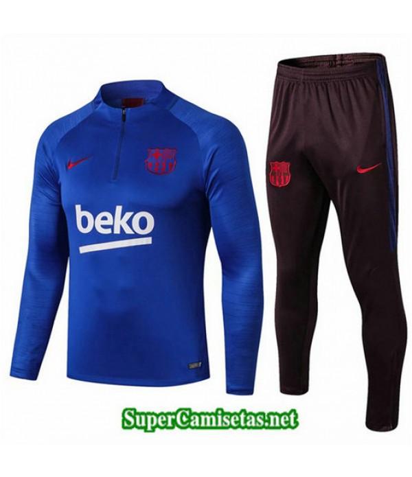Chandal Barcelona beko Azul beko Azul Sweat Zippe 2019/20