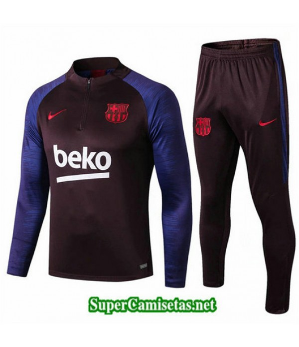 Chandal Barcelona beko beko sweat zippe 2019/20