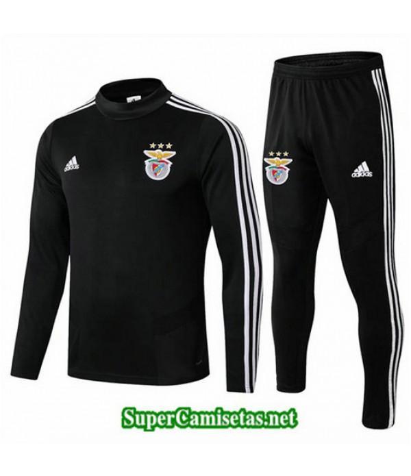 Chandal Benfica Negro Negro Cuello redondo 2019/20
