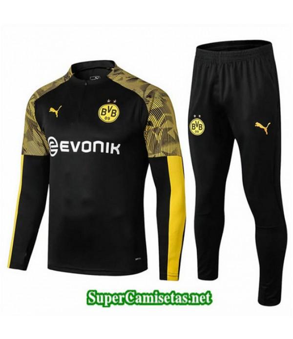 Chandal Borussia Dortmund BVB Negro Negro 2019/20