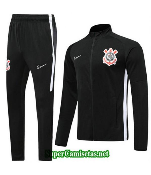 Chandal Corinthians Chaqueta Negro Negro 2019/20