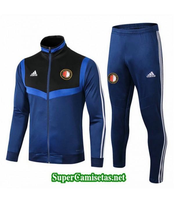 Chandal Feyenoord Chaqueta Azul Oscuro Azul Oscuro Cuello alto 2019/20