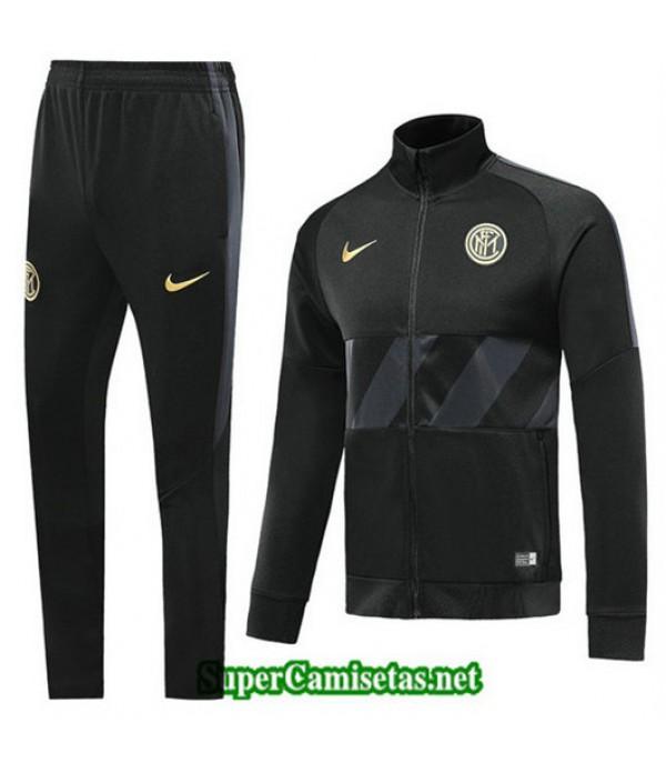 Chandal Inter Milan Chaqueta Negro Negro Cuello alto 2019/20
