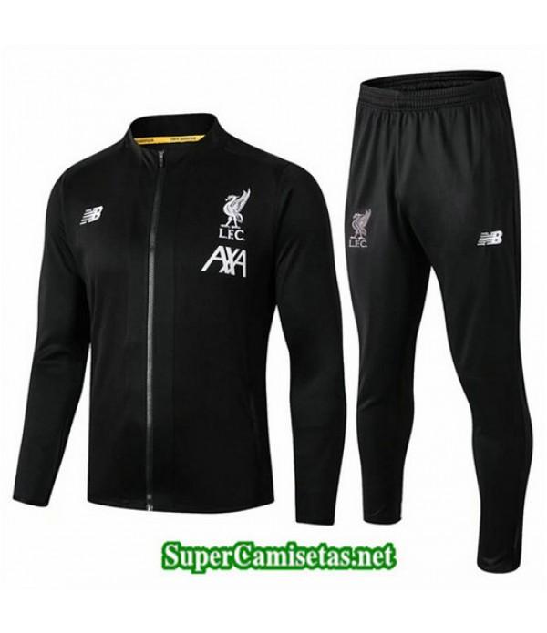 Chandal Liverpool L.F.C Chaqueta Negro/Blanco Negro/Blanco Cuello redondo 2019/20