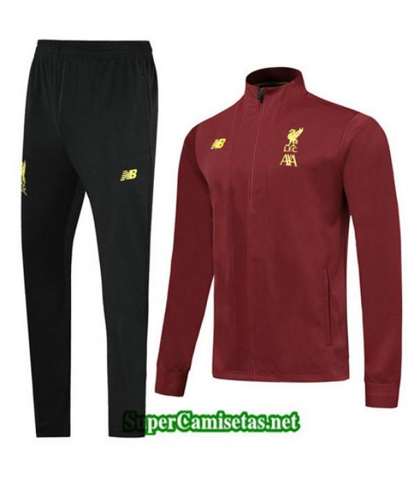 Chandal Liverpool L.F.C Chaqueta Rojo oscuro Rojo oscuro Cuello alto 2019/20
