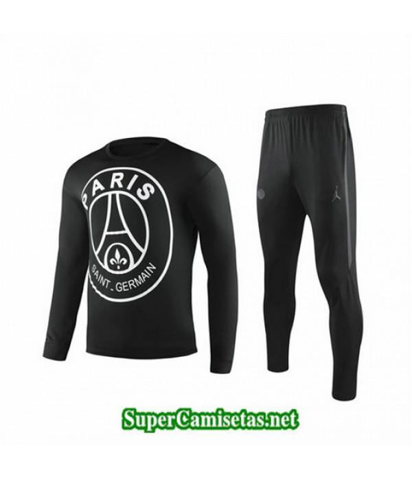 Chandal PSG Paris Negro Negro Cuello redondo 2019/...