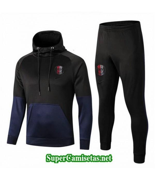 Chandal PSG Sombrero Negro/Azul Negro/Azul 2019/20