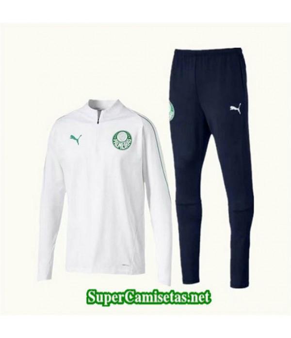 Chandal Palmeiras Blanco + Pantalón Negro Blanco + Pantalón Negro 2019/20