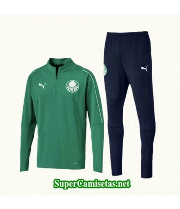 Chandal Palmeiras Verde + Pantalón Negro Verde + Pantalón Negro 2019/20