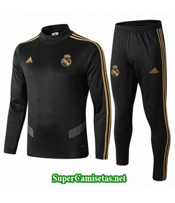 Chandal Real Madrid Negro Negro Cuello alto 2019/20