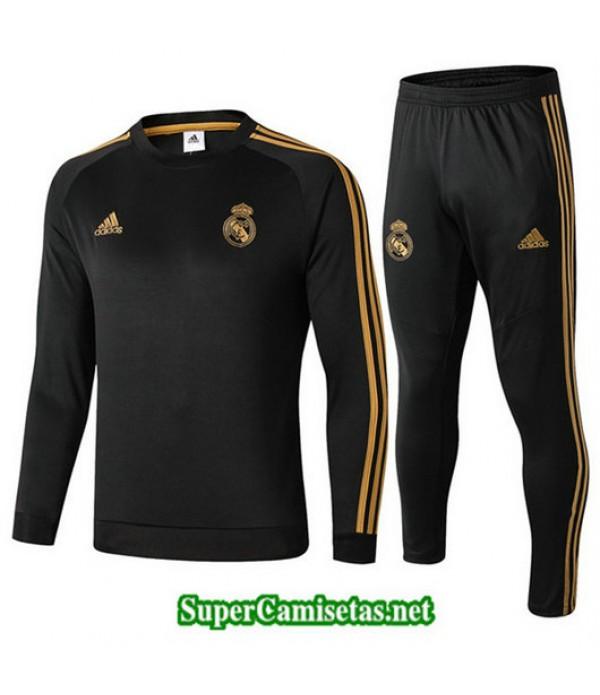 Chandal Real Madrid Negro Negro Cuello redondo 2019/20
