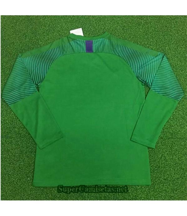 Equipacion Camiseta AC Milan Portero Manga Larga Verde 2019/20