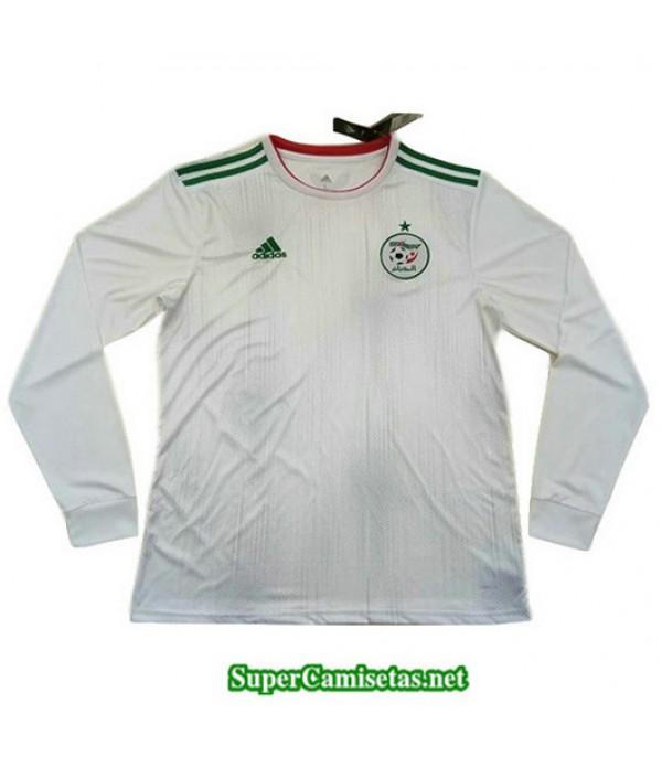 Equipacion Camiseta Argelia Manga Larga Blanco 2019/20