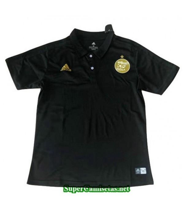 Equipacion Camiseta Argelia Negro Entrenamiento 2019/20