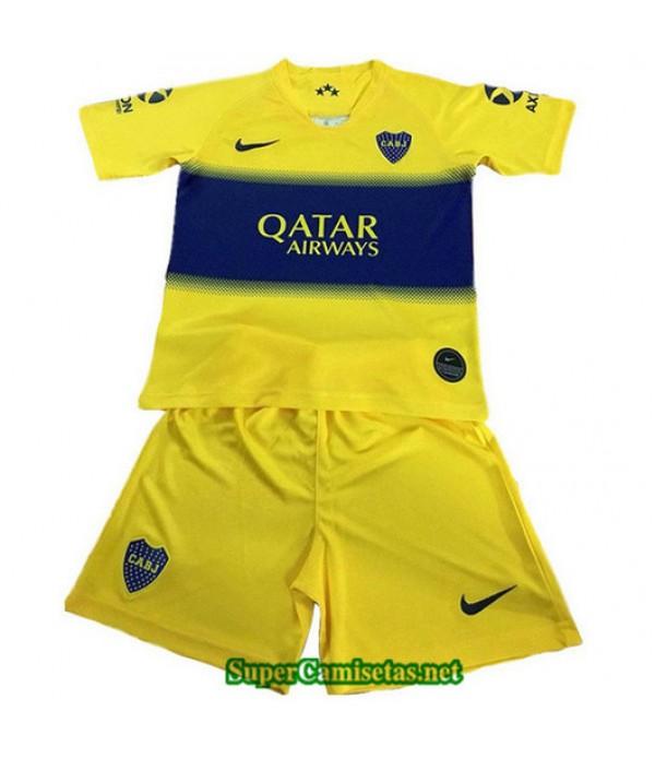 Equipacion Camiseta Boca Juniors Ninos Amarillo/Azul 2019/20
