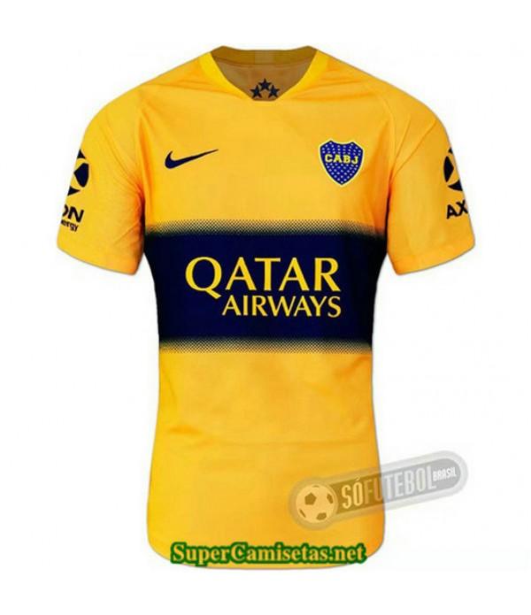 Equipacion Camiseta Boca juniors Amarillo 2019/20
