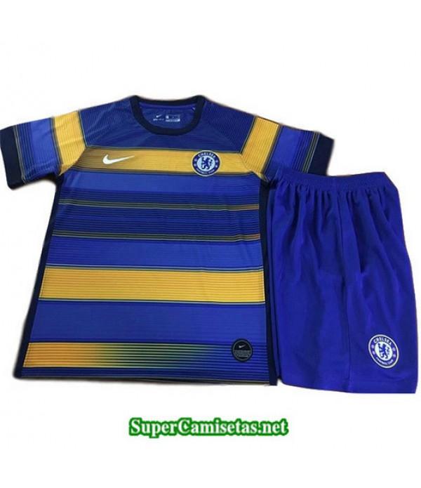 Equipacion Camiseta Chelsea Ninos Entrenamiento 2019/20