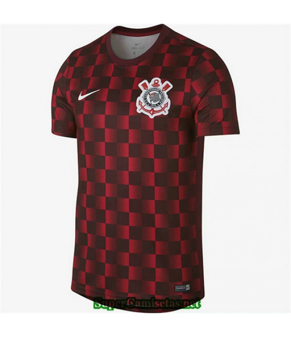 Equipacion Camiseta Corinthians Entrenamiento Rojo 2019/20