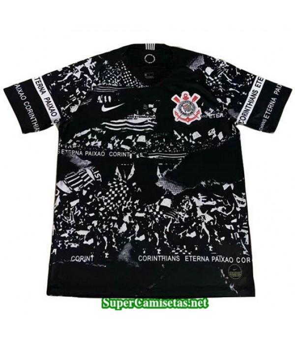 Equipacion Camiseta Corinthians Negro 2019/20