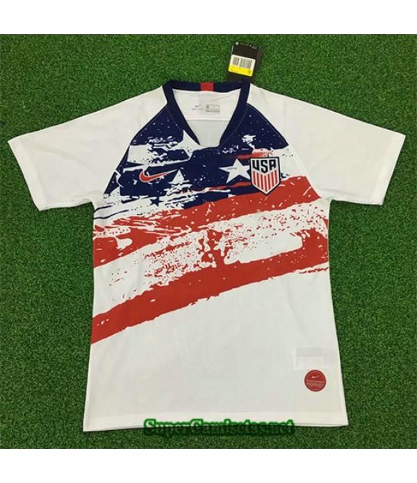 Equipacion Camiseta EEUU Blanco 2019/20