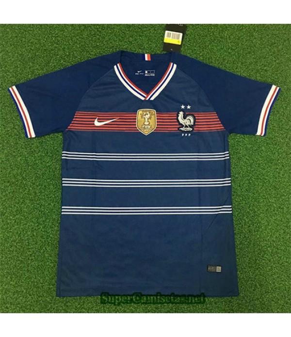 Equipacion Camiseta Francia 2 Estrellas Retro 2019/20