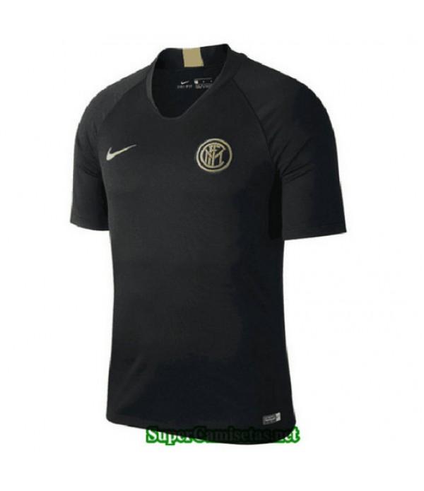 Equipacion Camiseta Inter milan Entrenamiento Negro 2019/20