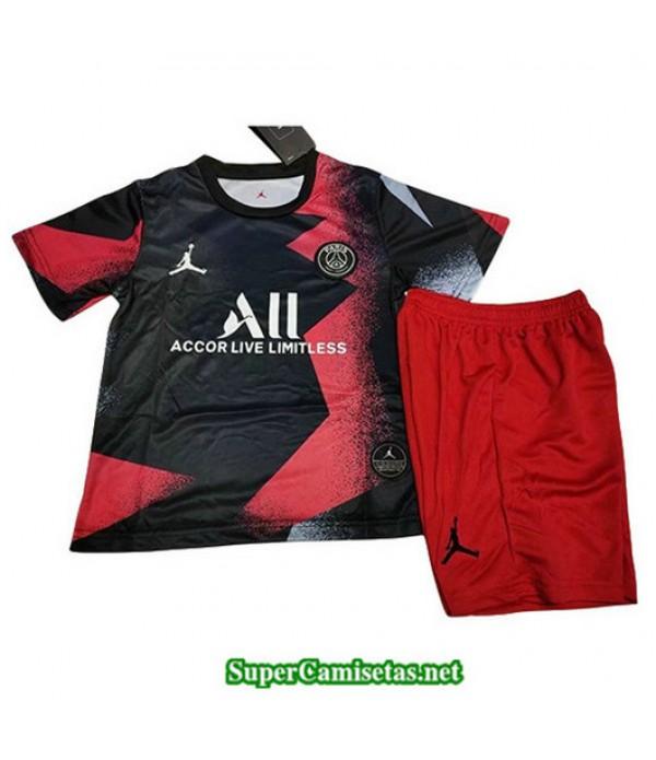 Equipacion Camiseta Jordan PSG Ninos Negro 2019/20