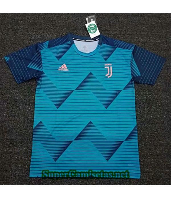 Equipacion Camiseta Juventus Entrenamiento Azul 20...