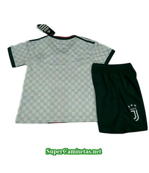 Equipacion Camiseta Juventus Ninos Version Fuite Blanco 2019/20