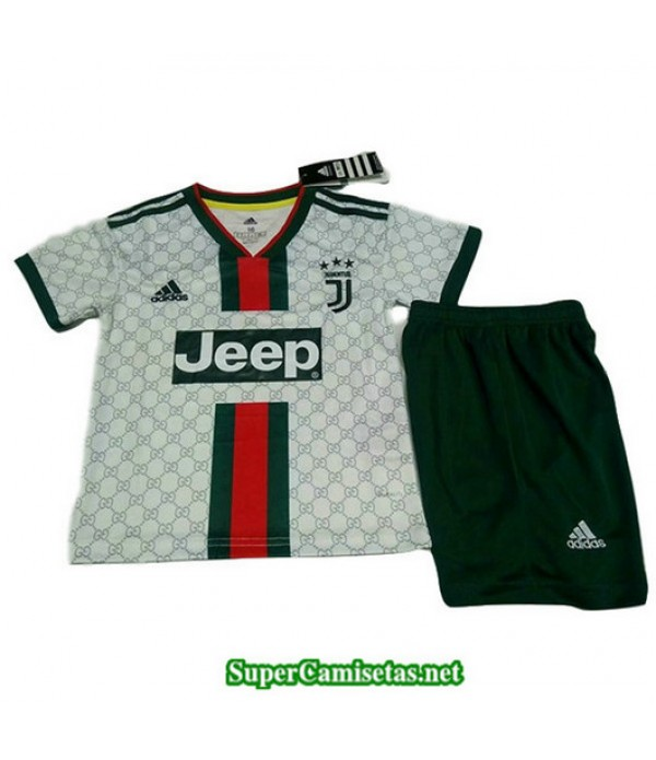 Equipacion Camiseta Juventus Ninos Version Fuite B...