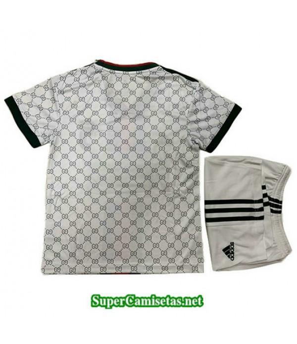 Equipacion Camiseta Juventus Ninos gucci edition Blanco 2019/20