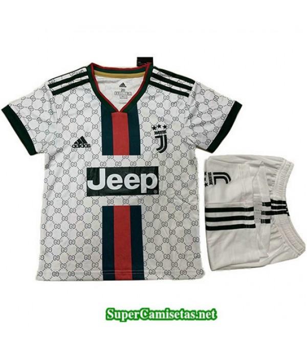 Equipacion Camiseta Juventus Ninos gucci edition B...