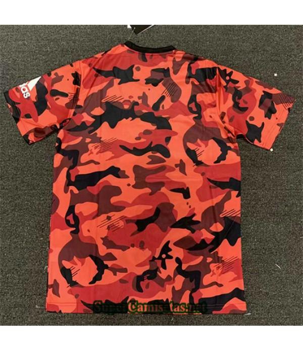 Equipacion Camiseta Juventus Rojo 2019/20