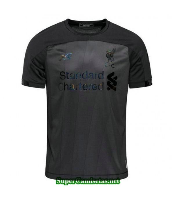 Equipacion Camiseta Liverpool Negro/Gris 2019/20