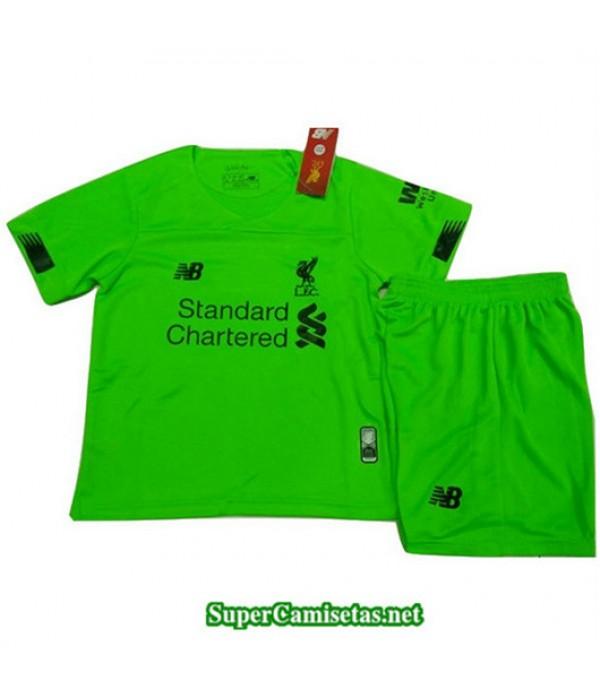 Equipacion Camiseta Liverpool Ninos Verde 2019/20
