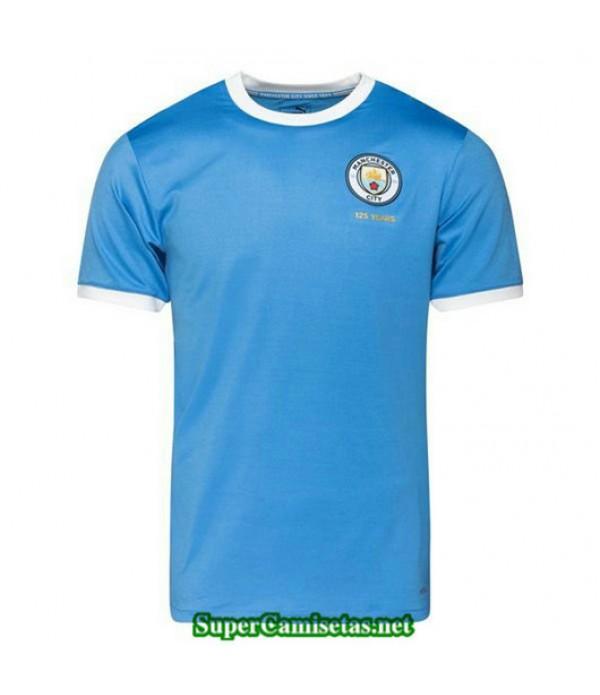 Equipacion Camiseta Manchester City 125 aniversario Azul