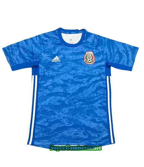 Equipacion Camiseta Mexico Portero Azul 2019/20