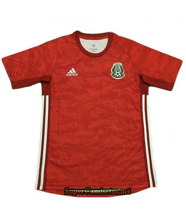 Equipacion Camiseta Mexico Rojo Portero 2019/20