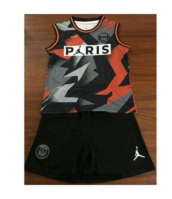 Equipacion Camiseta PSG Air Jordan Ninos 2019/20