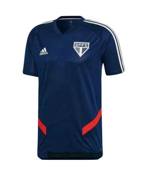 Equipacion Camiseta Sao Paulo Entrenamiento Azul 2019/20