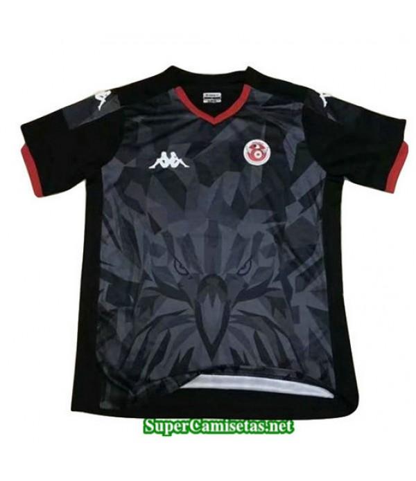 Equipacion Camiseta Tunez Negro 2019/20