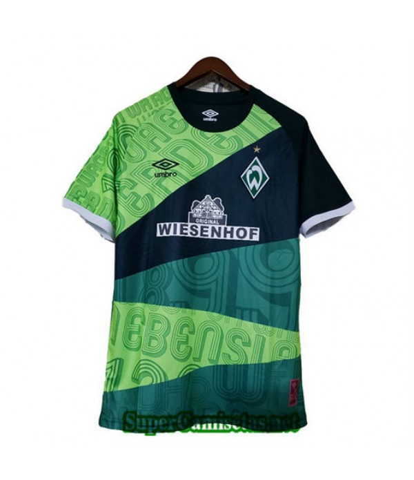 Equipacion Camiseta Werder Bremen Verde 2019/20