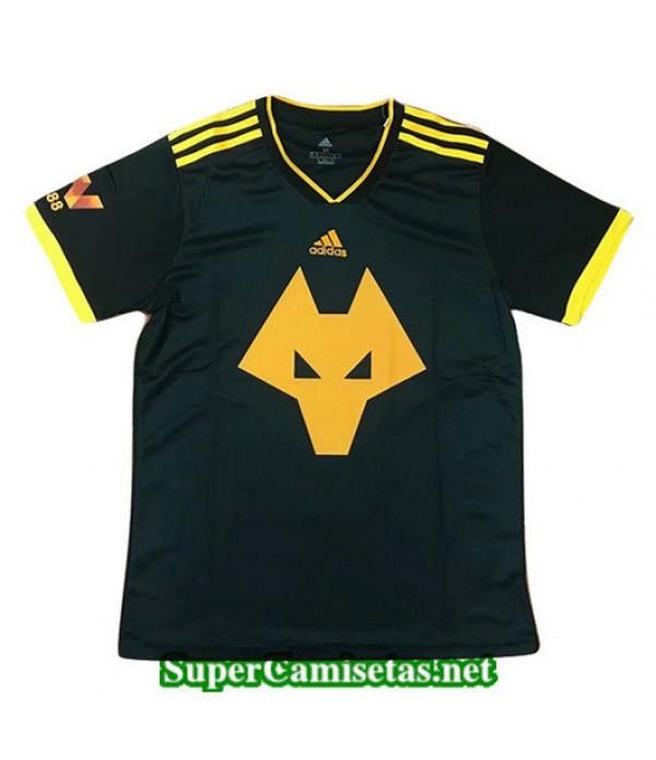Equipacion Camiseta Wolves Negro 2019/20