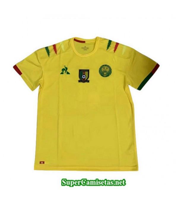 Fans Equipacion Camiseta Cameroon Amarillo 2019/20