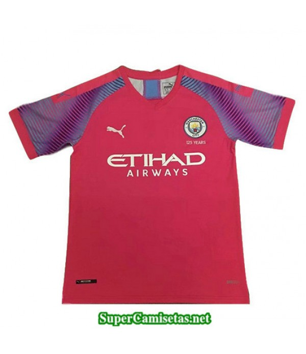 Portero Equipacion Camiseta Manchester City Naranja 2019/20